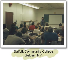 Suffolk Community College. Seldon, NY.