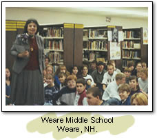 Weare High School. Weare, NH.