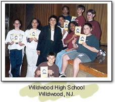 Wildwood High School. Wildwood, NJ.